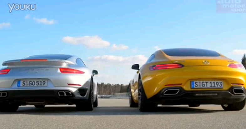 AMuS对比测试 AMG GT S vs. Porsche 911 Turbo